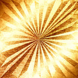 Festive golden background. Fancy metallic gold backdrop. Polygonal geometric texture. Low poly style Stock Photography