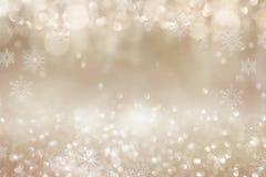 Festive golden christmas background Royalty Free Illustration