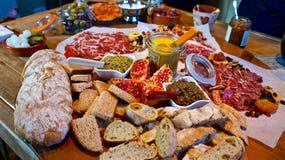 Festive Gourmet Table stock photography