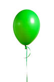 Festive green balloon Royalty Free Stock Images
