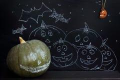 Festive Halloween night Stock Photo