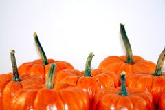 Festive Halloween Pumpkins Royalty Free Stock Image