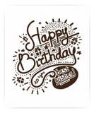 Festive Happy Birthday Royalty Free Stock Image