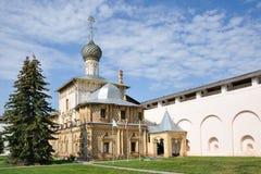 Festive Hodegetria Church In Kremlin Of Rostov Velikiy Royalty Free Stock Photos