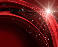 Festive holiday background. With sparkles and stars Stock Image
