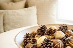 Festive Holiday Bowl Royalty Free Stock Photo