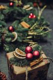 A Daydream About Christmas Time stock photography