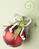 Festive Holiday Ornament Stock Photography
