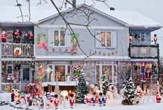 Festive Home Stock Image