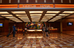 Festive Hotel Sentosa Royalty Free Stock Images