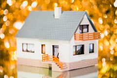 Festive house Royalty Free Stock Image