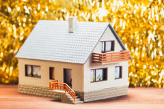 Festive house Stock Photography