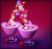 Festive ice cream Stock Photos