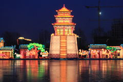 Festive lantern Stock Image