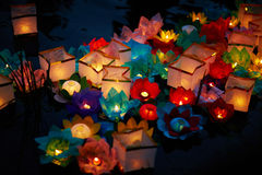 Festive lanterns Stock Images