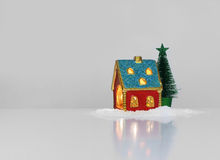 Festive light in house Stock Images