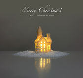 Festive light in house Royalty Free Stock Image