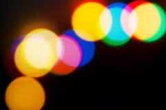 Festive lights Stock Image