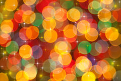 Festive lights Royalty Free Stock Photo