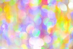 Festive lights. Stock Images