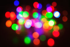 Festive lights. Royalty Free Stock Image