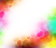 Festive lights at night. Colorful Blurred festive lights at night Royalty Free Stock Photos