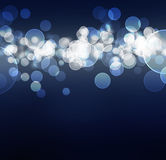 Festive lights at night Royalty Free Stock Photo