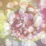 Festive lights at night. Colorful Blurred festive lights at night Stock Photo