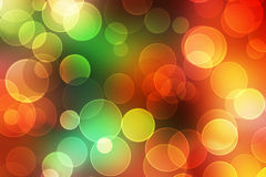 Festive lights at night. Colorful Blurred festive lights at night Stock Photography