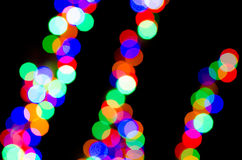 Festive lights Stock Photos