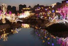 Festive lights Royalty Free Stock Image