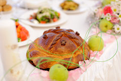Festive Loaf Royalty Free Stock Photography
