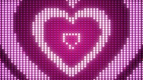 Family Love Hearts Image. A festive-looking 3d rendering of four sparkling hearts put into each other. They look like a happy family symbol with a Father, Mother Stock Photography