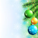 Festive luxury background for New Year and Christmas Stock Image