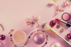 Festive make up royalty free stock image
