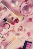 Festive make up stock photos