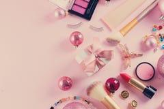 Festive make up stock images