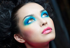 Festive makeup Royalty Free Stock Photography