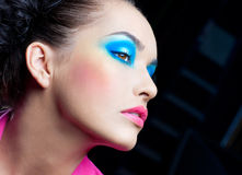 Festive makeup Royalty Free Stock Images