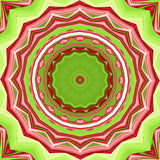 Festive mandala. Colorful bright christmas mandala background Stock Images