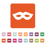 The festive mask icon. Royalty Free Stock Photos