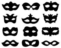 Festive masks Stock Photo