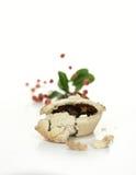 Festive Mince Pie Stock Photo