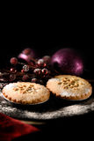 Festive Mince Pies Royalty Free Stock Photos