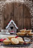 Festive Mince Pies Royalty Free Stock Image