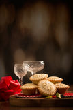 Festive Mince Pies Royalty Free Stock Photo