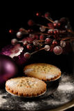 Festive Mince Pies II Royalty Free Stock Photos