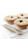 Festive Mince Pies Stock Photography