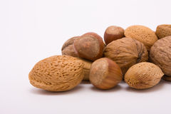 Festive Mixed Nuts Royalty Free Stock Photo
