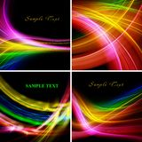 Festive mood. Collection of bright colorful backgrounds Royalty Free Stock Photography